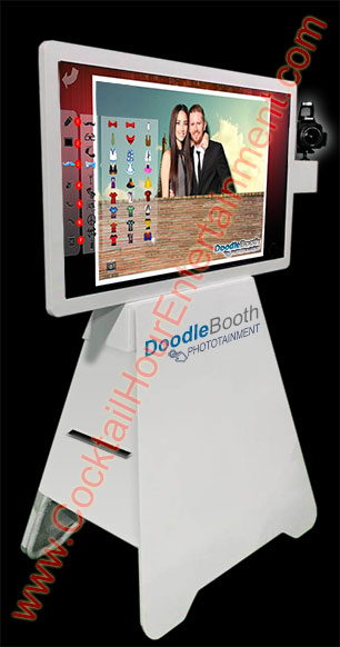 florida doodle booth photo booth rental