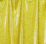 yellow  florida photo booth rental curtain