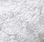 white rosette florida photo booth rental curtain