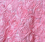 pink rosette florida photo booth rental curtain