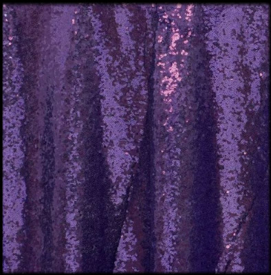purple  florida photo booth rental curtain