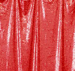 red  florida photo booth rental curtain