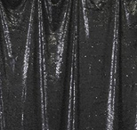 black  florida photo booth rental curtain