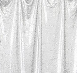white  florida photo booth rental curtain