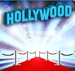 hollywood spandex florida photo booth rental curtain